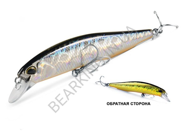 фото Bearking Realis Jerkbait 100SP цвет P Gold Silver