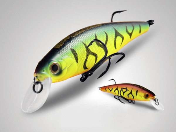 фото Bearking Squad Minnow 95SP цвет G Green Fire Tiger